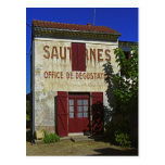 Sauternes Office de Degustation (Wine Tasting Postcards