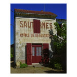 Sauternes Office de Degustation (Wine Tasting Posters