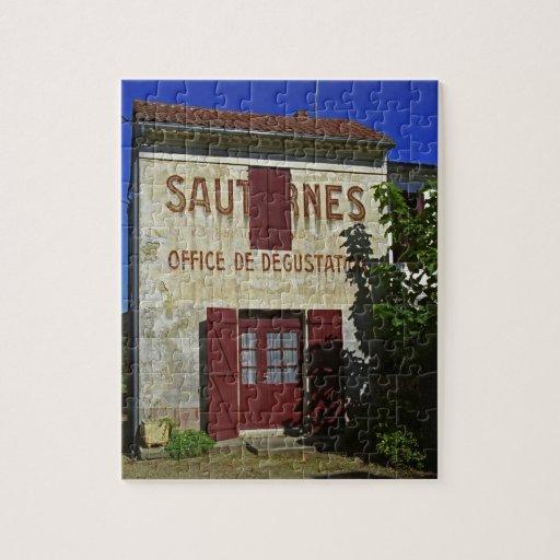 Sauternes Office de Degustation (Wine Tasting Jigsaw Puzzle