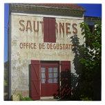 Sauternes Office de Degustation (Wine Tasting Tile