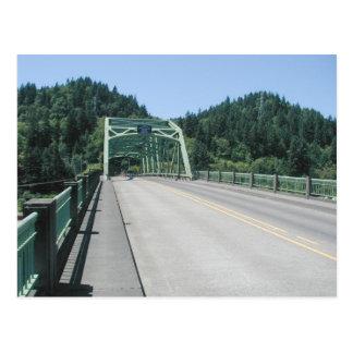 Sauvie Island Bridge July 1, 2001 Postcard