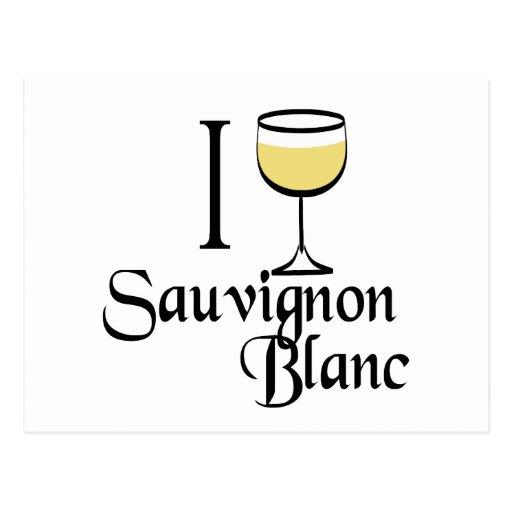 Sauvignon Blanc Wine Lover Gifts Postcard