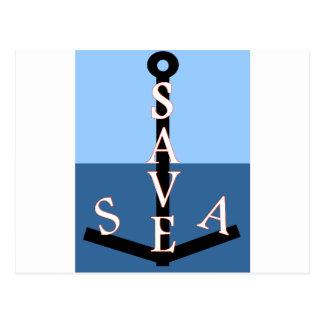 sauvons la mer cartes postales
