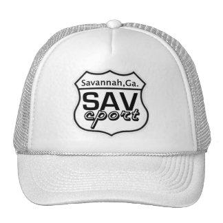 SAV Cport LOGO Sign Trucker Hat
