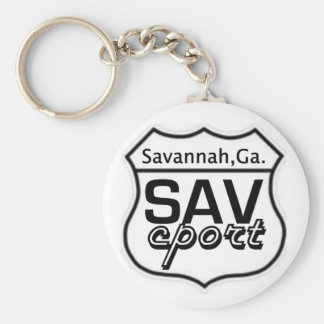 SAV CPort Sign Key Chain