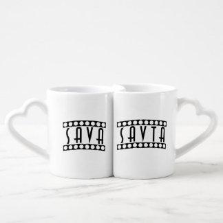 Sava - Savta Couple Mugs