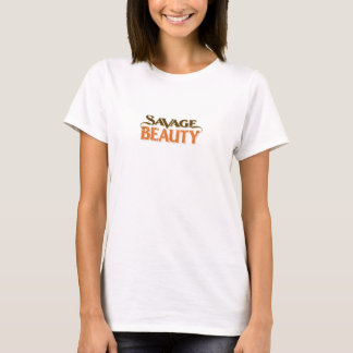 Savage Beauty ladies fitted T-Shirt