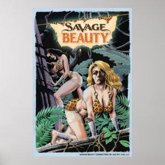 Savage Beauty Poster