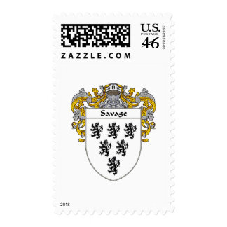 Savage Coat of Arms (Mantled) Stamps