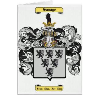 savage (english) card