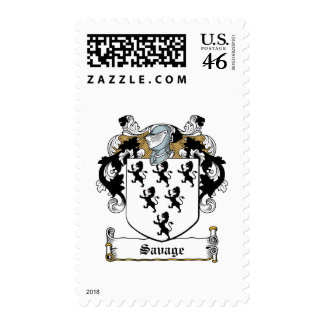 Savage Family Crest Stamp