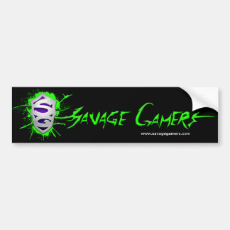 Savage Gamers bumper sticker