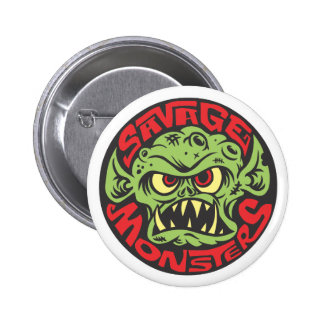 Savage Monsters Logo Button