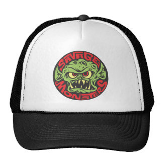 Savage Monsters Logo Trucker Hat