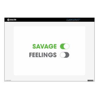 """Savage On Skin For 15"""" Laptop"""
