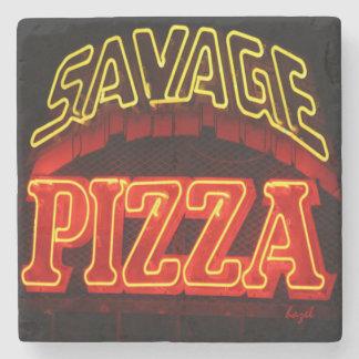 Savage Pizza, Little 5 Points, Atlanta Coaster