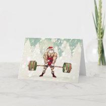 Savage Santa Claus Greeting Card