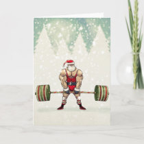 Savage Santa Greeting Card