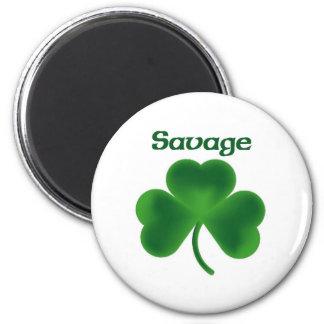 Savage Shamrock Magnet