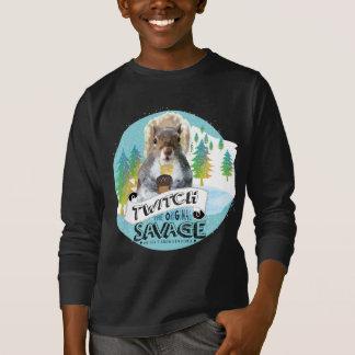 Savage Squirrel T-Shirt