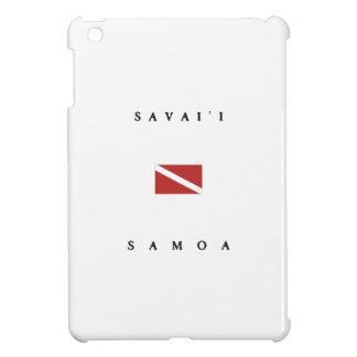 Savaii Samoa Scuba Dive Flag iPad Mini Cases