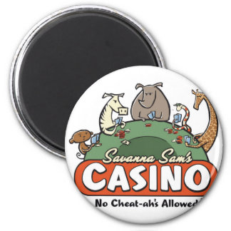 Savanna Casino Magnet