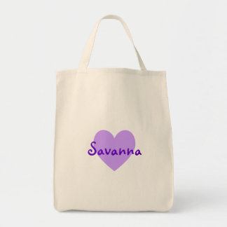 Savanna in Purple Bags