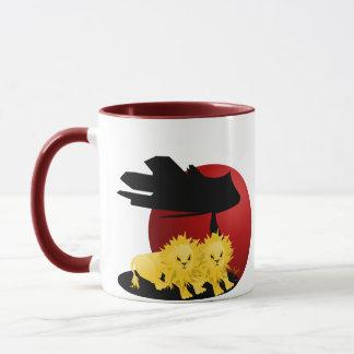 Savanna Lions Mug