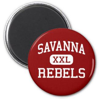 Savanna - Rebels - High - Anaheim California Magnet