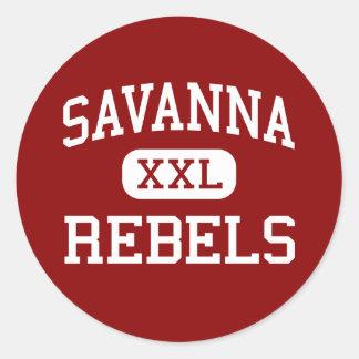 Savanna - Rebels - High - Anaheim California Sticker