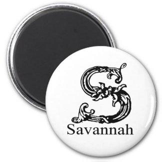 Savannah 2 Inch Round Magnet