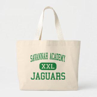 Savannah Academy - Jaguars - High - Long Beach Canvas Bag