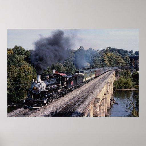 Savannah and Atlanta Railway, No. 750, North Carol Print