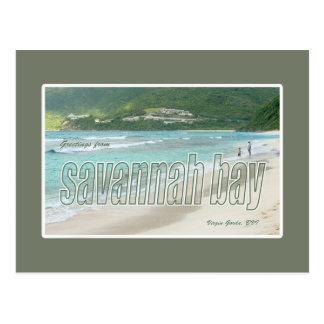 Savannah Bay, Virgin Gorda, BVI Postcard