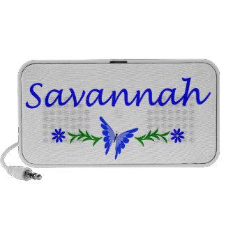Savannah (Blue Butterfly) PC Speakers