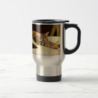 Savannah Cat Awakening Mug