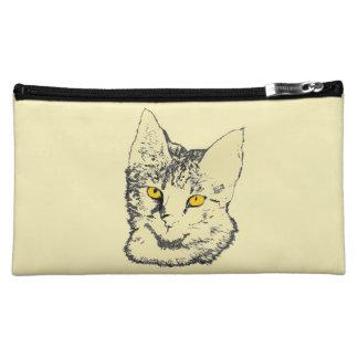 Savannah Cat Cosmetic Bag