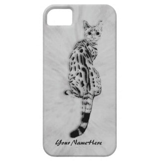 Savannah Cat Personal iPhone 5 Case