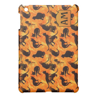 Savannah Cats Monogram Speck Case iPad Mini Covers