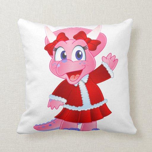 Savannah Dino Throw Pillow