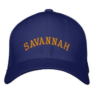Savannah Embroidered Baseball Hat