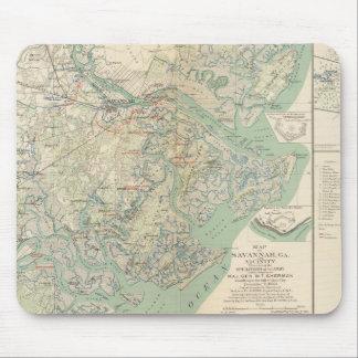 Savannah, Ga and vicinity Mouse Pads