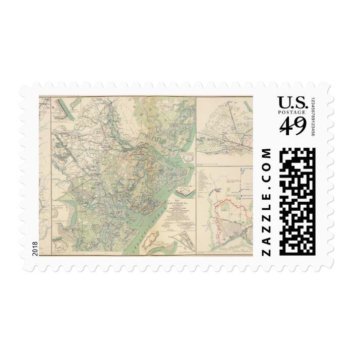 Savannah, Ga and vicinity Postage