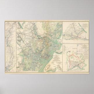 Savannah, Ga and vicinity Poster