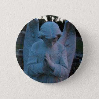Savannah GA Angel statue in cemetary Pinback Button