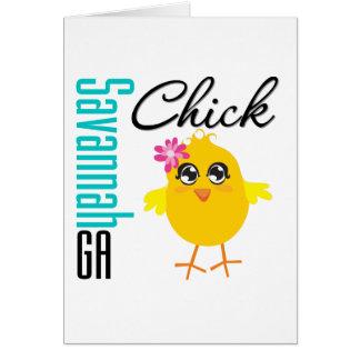 Savannah GA Chick Card