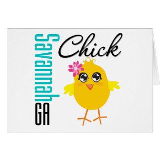 Savannah GA Chick Cards