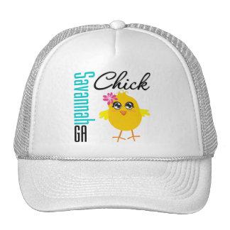 Savannah GA Chick Trucker Hats