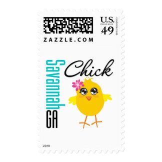 Savannah GA Chick Stamps