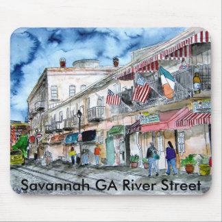 savannah ga georgia river street mouse pads